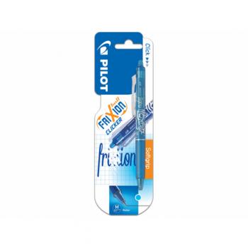 Roller Pilot Frixion Clicker, 0.7 mm, blister, bleu