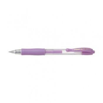 Roller cu gel Pilot G-2 Pastel, 0.7 mm, violet