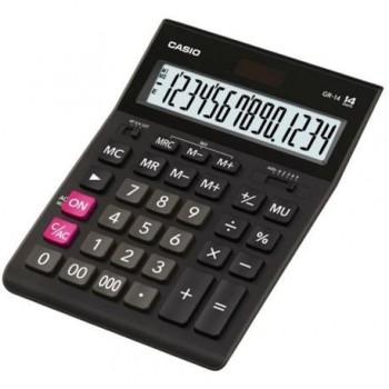 Calculator de birou Casio GR-14-W-EP, 14 digits, negru