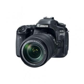 Camera foto Canon EOS80D EF 18-135 IS USM, 24MP, CMOS,3