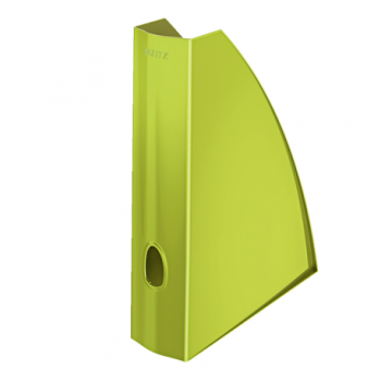 Suport vertical documente Leitz WOW, verde metalizat