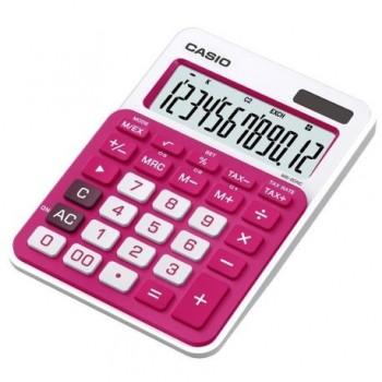 Calculator de birou Casio MS-20NC-RD, 12 digit, rosu
