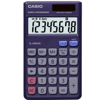 Calculator de birou Casio SL-300VER, 8 digits