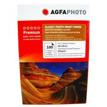 Hartie foto Agfa Glossy 4R, 210 g/mp