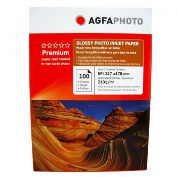 Hartie foto Agfa Glossy 5R, 210 g/mp