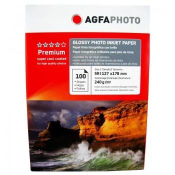 Hartie foto Agfa Glossy 5R, 240 g/mp
