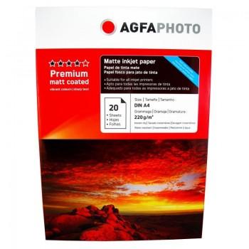 Hartie foto Agfa Matte Double  A4, 220 g/mp