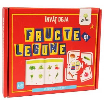 Învăț deja fructe și legume