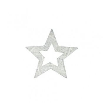Ornament Edelman, stea alba