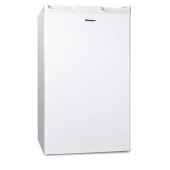 Frigider Heinner HF-100A+, clasa de energie: A+, capacitate neta: 100L (frigider: 87L, congelator: 13L), capacitate bruta totala: 102L, 1 raft din