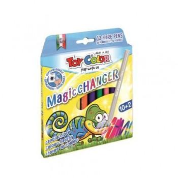 Carioci magice Toy Color, 10+2 culori