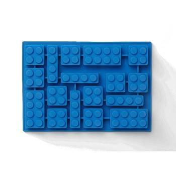 Tava cuburi de gheata LEGO - Albastru (41000001)