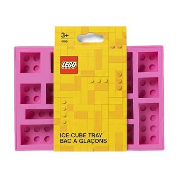 Tava cuburi de gheata LEGO - Roz (41000002)