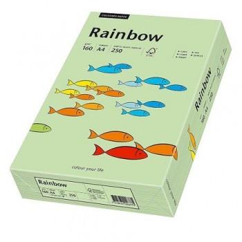 Carton A4 Rainbow, 160 g/mp,  250 coli/top, verde mediu