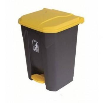 Cos gunoi din plastic cu pedala 30L