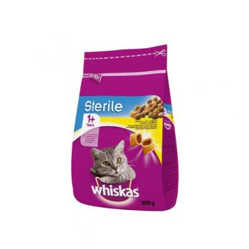 Hrana uscata pisici sterile pui 300gr Whiskas