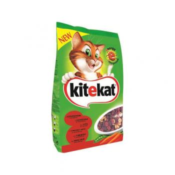 Hrana uscata pisici vita cu legume 1.8kg Kitekat
