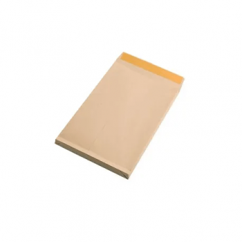 Plic TC/5 162 x 229 x 20 mm, Kraft siliconic cu burduf 2 cm