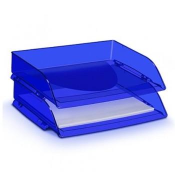Tavita documente CEP Happy, deschidere laterala, albastru