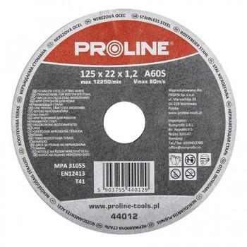 DISC DEBITARE INOX 125X1.0MMA60S