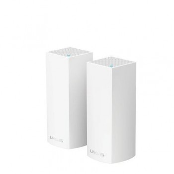 Linksys VELOP Whole Home Mesh Wi-Fi System (Pack of 2), WHW0302-EU