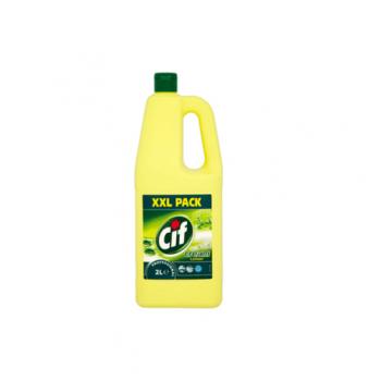 Crema de curatat CIF Lemon, 2L, W2124