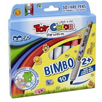 Carioci Toy Color Bimbo, 10 culori