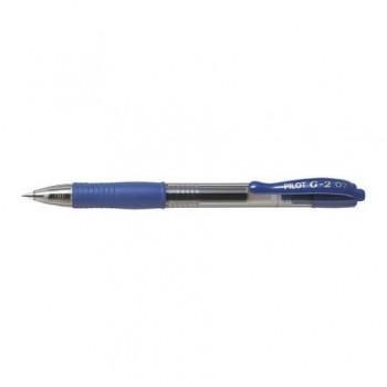Roller cu gel Pilot G-2, 0.7 mm, albastru