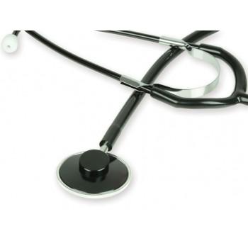 Stetoscop cu capsula simpla GIMA - Latex Free - negru (51000)