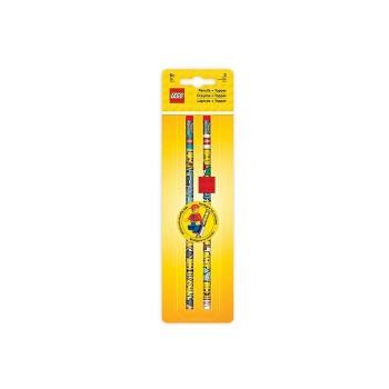 Set 2 creioane grafit cu topper  (51141)