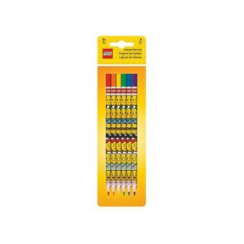 Set 6 creioane colorate LEGO Iconic  (51176)