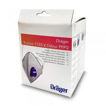 Semimasca DRAGER X-PLORE 1720 FFP2 - 1 cutie de 10 buc. - DRAGER X-PLORE 1720 FFP2