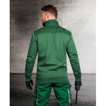 HANORAC de lucru M007 verde fleece H5943