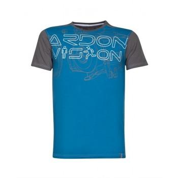 Tricou VISION albastru - H9729
