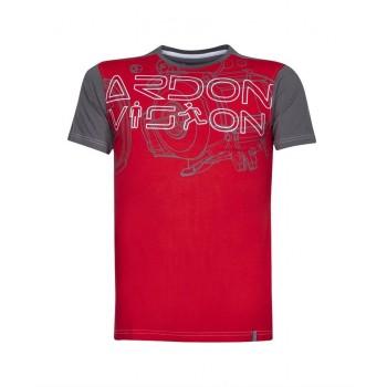 Tricou VISION roșu - H9730