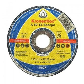 DISC DEBITARE INOX 115X1.0MMA60TZSPECIAL