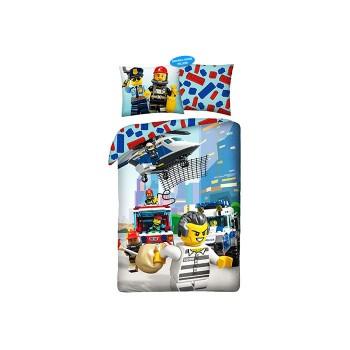 Lenjerie de pat LEGO City (LEG-821)