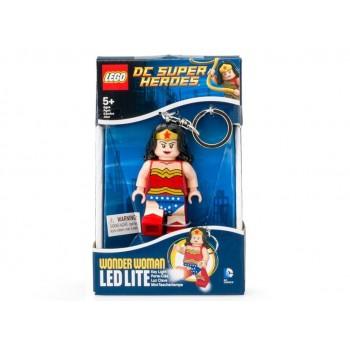 Breloc cu lanterna LEGO Wonder Woman  (LGL-KE70)