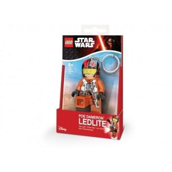 Breloc cu lanterna LEGO Star Wars Poe Dameron (LGL-KE95)