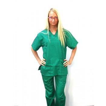 Costum medical verde chirurgical - unisex